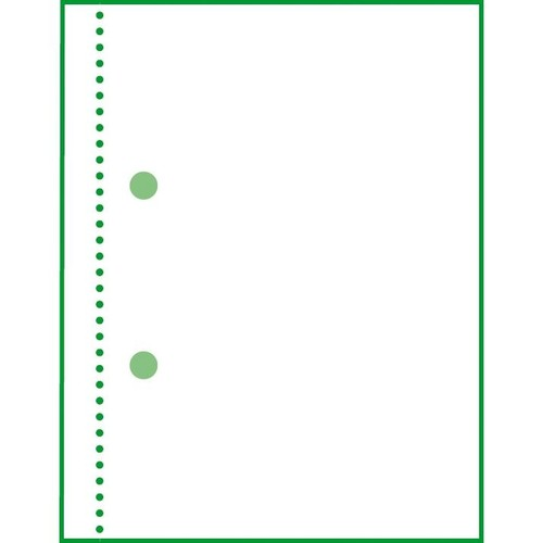 Kassenabrechnung A4 2x50Blatt mit Blaupapier Sigel KG425 Produktbild Additional View 7 L