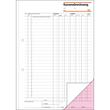 Kassenabrechnung A4 2x50Blatt mit Blaupapier Sigel KG425 Produktbild Additional View 2 S