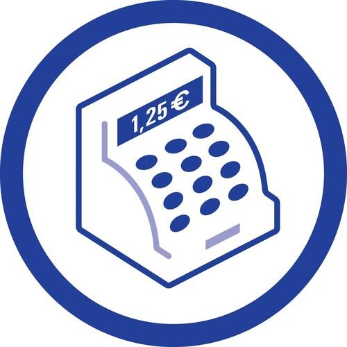 Kassenabrechnung A4 2x50Blatt mit Blaupapier Zweckform 428 Produktbild Additional View 7 L