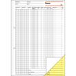 Kassenbuch EDV A4 2x50Blatt mit Blaupapier Steuerschiene 300 Sigel KG429 Produktbild Additional View 2 S