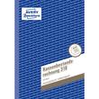 Kassenbestandsbuch A5 hoch 50Blatt Zweckform 318 Produktbild Additional View 1 S