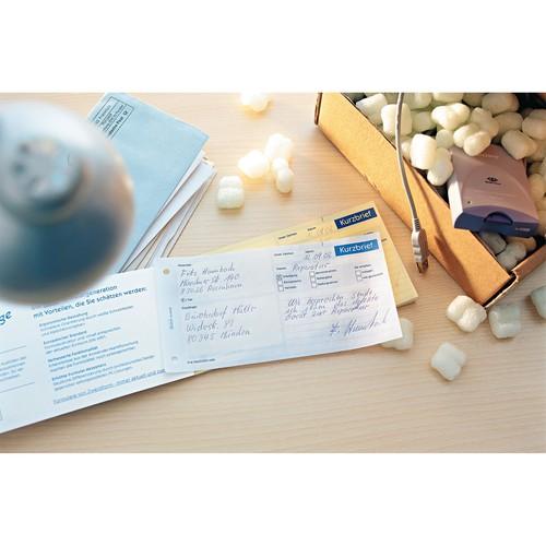Kurzbrief 1/3 A4 2x40Blatt selbstdurchschreibend Zweckform 1741 Produktbild Additional View 4 L