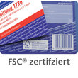 Kurzbrief 1/3 A4 2x40Blatt selbstdurchschreibend Zweckform 1741 Produktbild Additional View 6 S