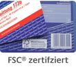 Lieferscheinbuch A5 hoch 3x40Blatt selbstdurchschreibend Zweckform 1721 Produktbild Additional View 4 S