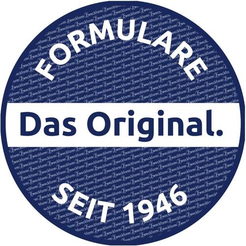 Lieferscheinbuch A6 hoch 2x50Blatt mit Blaupapier Zweckform 724 Produktbild Additional View 3 L