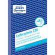 Lieferscheinbuch A6 hoch 2x50Blatt mit Blaupapier Zweckform 724 Produktbild Additional View 1 S