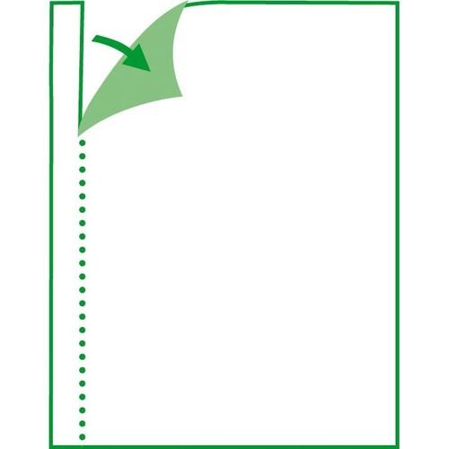 Quittungsblock A6 quer 3x50Blatt mit Blaupapier Sigel QU635 Produktbild Additional View 8 L