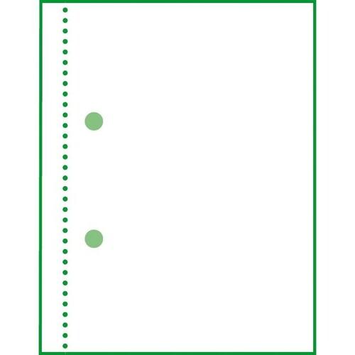 Rapport/ Wochenbericht A5 quer 100Blatt mit Blaupapier Sigel RP517 Produktbild Additional View 6 L