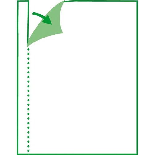 Rapport/ Wochenbericht A5 quer 100Blatt mit Blaupapier Sigel RP517 Produktbild Additional View 7 L