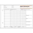 Rapport/ Wochenbericht A5 quer 100Blatt mit Blaupapier Sigel RP517 Produktbild Additional View 2 S
