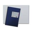 Geschäftsbuch liniert A4 96Blatt blau mit hochglanz Deckelpappe und Strukturprägung König & Ebhardt 86-14172 Produktbild
