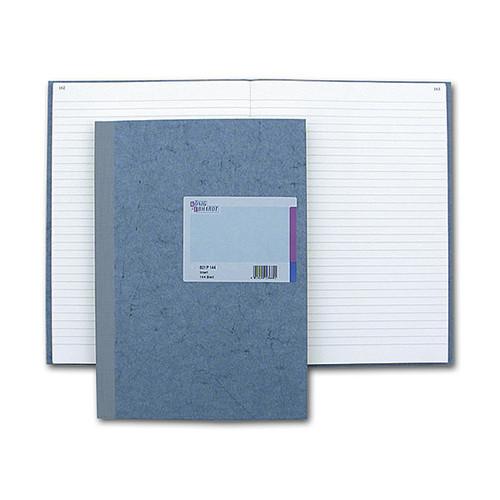 Geschäftsbuch liniert A4 192Blatt Leder-Folienprägung König & Ebhardt 86-14124 Produktbild Front View L