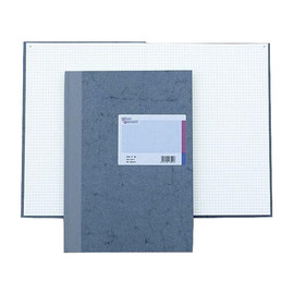 Geschäftsbuch kariert A4 96Blatt Leder-Folienprägung König & Ebhardt 86-14222 Produktbild