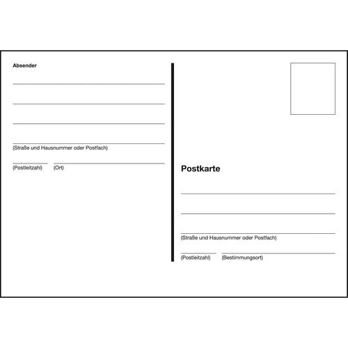 Postkarten A6 quer geheftet Sigel PH610 (ST=10 BLATT) Produktbild Additional View 1 L
