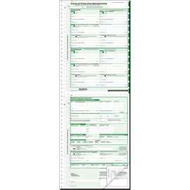 Mahnbescheid für maschinelle Bearbeitung A4 2x2Blatt selbstdurchschreibend Sigel MA441 Produktbild