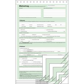 Mietvertrag A4 4x2Blatt selbstdurchschreibend Sigel MV480 Produktbild