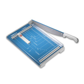 Schneidemaschine mit Hebel Schnittlänge 340mm, Schnitthöhe 1,5mm blau Dahle 00533 Produktbild