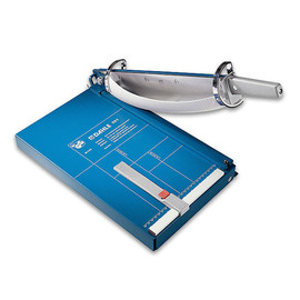Schneidemaschine mit Hebel Schnittlänge 360mm, Schnitthöhe 3,5mm blau Dahle 00561 Produktbild