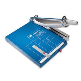 Schneidemaschine mit Hebel Schnittlänge 390mm, Schnitthöhe 4mm blau Dahle 00565 Produktbild