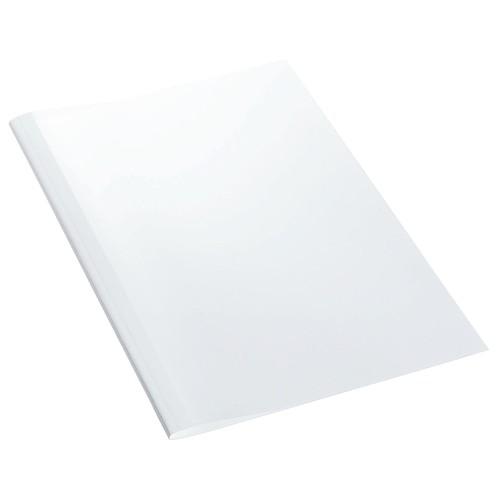 Thermo-Bindemappen A4 1,5mm weiß +transparent Standard Leitz 177158 (PACK=100 STÜCK) Produktbild Front View L