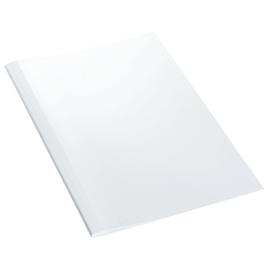 Thermo-Bindemappen A4 8mm weiß +transparent Standard Leitz 177162 (PACK=100 STÜCK) Produktbild