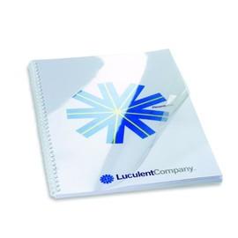 Einbanddeckel HiClear A3 240µ transparent kristallklar GBC 78500306 (PACK=100 STÜCK) Produktbild