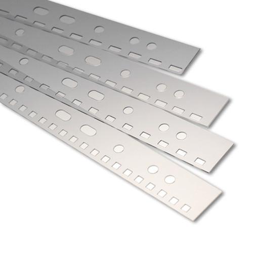Abheftstreifen für Drahtbindungen 3:1-Teilung transparent Renz 2203002 (PACK=100 STÜCK) Produktbild Front View L