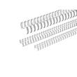Draht-Binderücken 2:1-Teilung 12,7mm ø bis 105Blatt NC-silber matt Renz 321270923 (PACK=100 STÜCK) Produktbild
