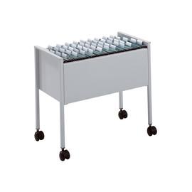 Hängemappenwagen fahrbar einbahnig 592x655x368mm für 80 Hängemappen grau Durable 3095-10 Produktbild