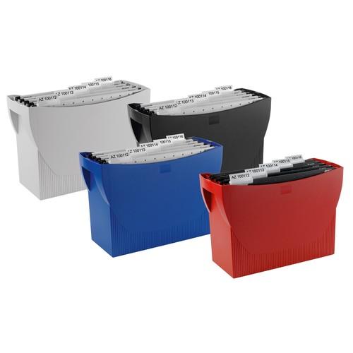Hängemappenbox SWING 390x150x260mm ohne Deckel grau HAN 1900-11 Produktbild Additional View 5 L