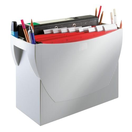 Hängemappenbox SWING 390x150x260mm ohne Deckel grau HAN 1900-11 Produktbild Additional View 8 L