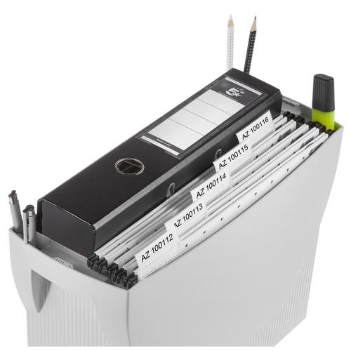 Hängemappenbox SWING 390x150x260mm ohne Deckel grau HAN 1900-11 Produktbild Additional View 3 L