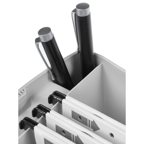 Hängemappenbox SWING 390x150x260mm ohne Deckel grau HAN 1900-11 Produktbild Additional View 2 L