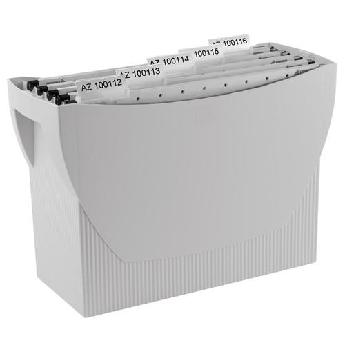 Hängemappenbox SWING 390x150x260mm ohne Deckel grau HAN 1900-11 Produktbild