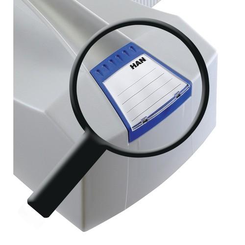 Hängemappenbox SWING-PLUS 397x154x347mm mit Deckel grau HAN 1901-11 Produktbild Additional View 4 L