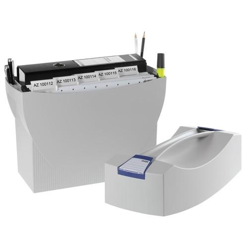 Hängemappenbox SWING-PLUS 397x154x347mm mit Deckel grau HAN 1901-11 Produktbild Additional View 2 L