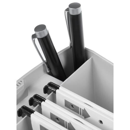 Hängemappenbox SWING-PLUS 397x154x347mm mit Deckel grau HAN 1901-11 Produktbild Additional View 3 L