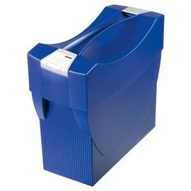 Hängemappenbox SWING-PLUS 397x154x347mm mit Deckel blau HAN 1901-14 Produktbild