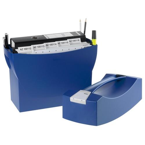 Hängemappenbox SWING-PLUS 397x154x347mm mit Deckel blau HAN 1901-14 Produktbild Additional View 2 L