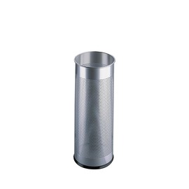 Schirmständer 59cm x ø 27cm 28,5L silber Metall perforiert Durable 3350-23 Produktbild