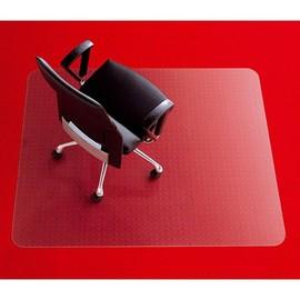Bodenschutzmatte für Teppichböden Form E rechteckig 121x92cm, 2,7mm stark transparent Poycarbonat Rexel 1300104 Produktbild