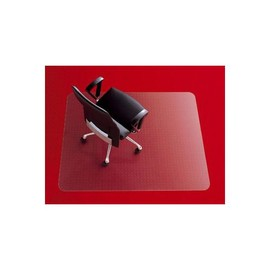 Bodenschutzmatte für Teppichböden Form E rechteckig 121x134cm, 2,7mm stark transparent Polycaronat Rexel 1300106 Produktbild