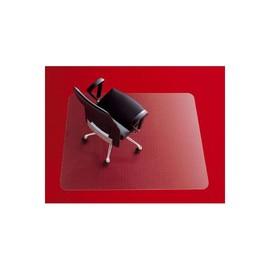Bodenschutzmatte für Teppichböden Form E rechteckig 121x152cm, 2,7mm stark transparent Polycarbonat Rexel 1300108 Produktbild