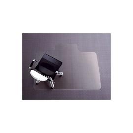 Bodenschutzmatte für Teppichböden Form Q mit Lippe 121x152cm, 2,7mm stark transparent Polycarbonat Rexel 1300109 Produktbild