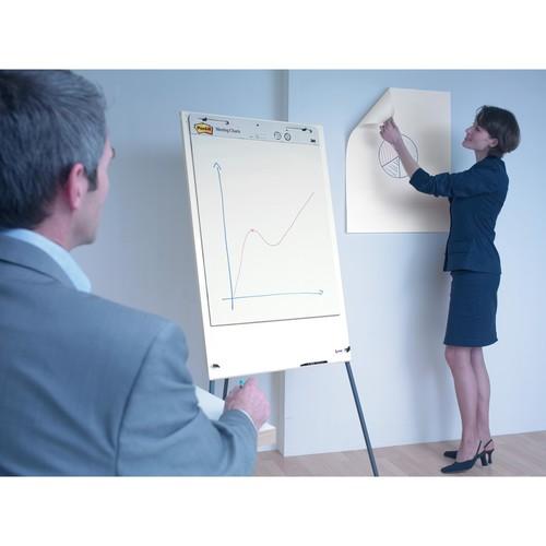 Haftfolie Post-it Meeting Charts 63,5x77,5cm 3M MC559 (PACK=30 BLATT) Produktbild Additional View 1 L