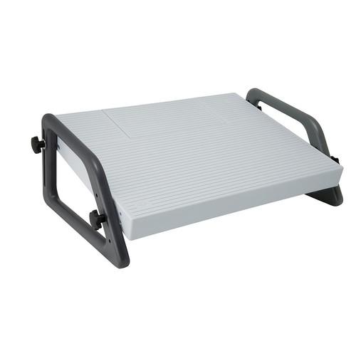 Fußstütze Relax Trittfläche 450x350mm höhenverstellbar lichtgrau Wedo 2751 Produktbild