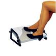 Fußstütze Relax Trittfläche 450x350mm höhenverstellbar lichtgrau Wedo 2751 Produktbild Additional View 2 S