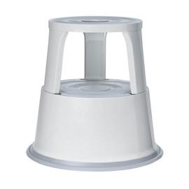 Rollhocker fahrbar Tragkraft 150kg lichtgrau Metall Wedo 212.137 Produktbild
