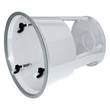 Rollhocker fahrbar Tragkraft 150kg lichtgrau Metall Wedo 212.137 Produktbild Additional View 1 S