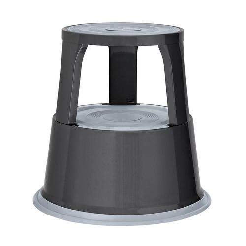 Rollhocker fahrbar Tragkraft 150kg grau Metall Wedo 212.112 Produktbild